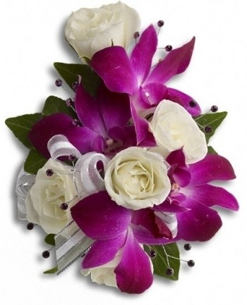 Orchid Corsage or Wristlet
